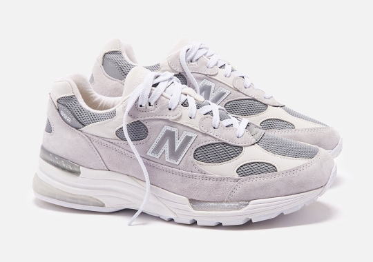 The New Balance 992 Takes 2020 With A Clean White And Silver Colorway