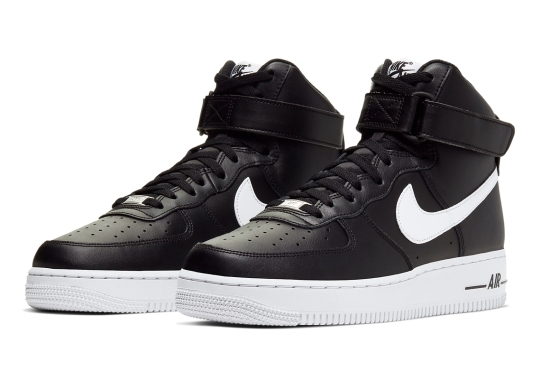 This Simple Black And White Nike Air Force 1 High Is Available Now
