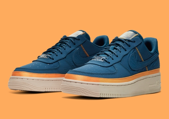 """The Nike Air Force 1 Low SE For Women Gets A """"Blue Force"""" Update"""