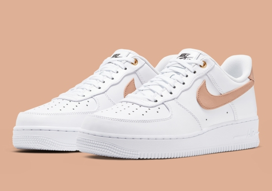Nike Adds The Lux Vachetta Tan Leather To The Air Force 1 Premium
