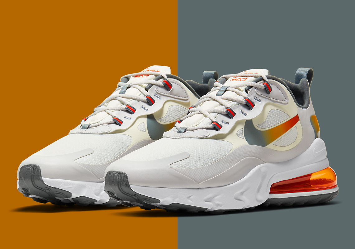 Nike Air Max 270 React Cd6615 100 Release Info Sneakernews Com