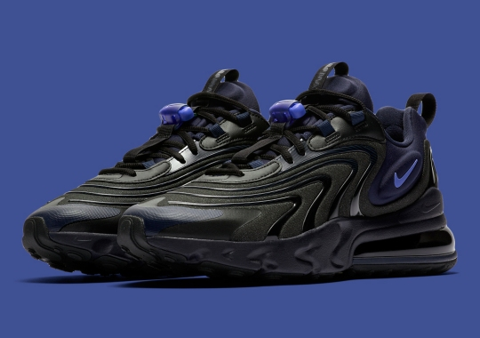 The Nike Air Max 270 React ENG Revealed In Black And Sapphire