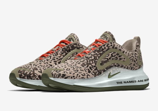 Maharishi Patterns Arrive As Design Options For The Nike By You Air Max 720