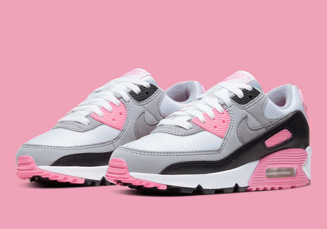 Cortés Absolutamente Fielmente  Nike Air Max 90 Pink CD0490-102 | SneakerNews.com