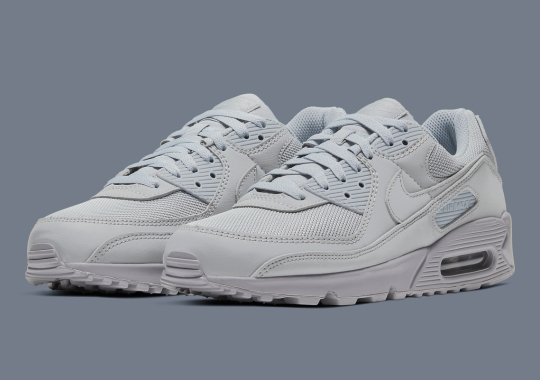 The Recrafted Nike Air Max 90 Will Be Available In Tonal Grey