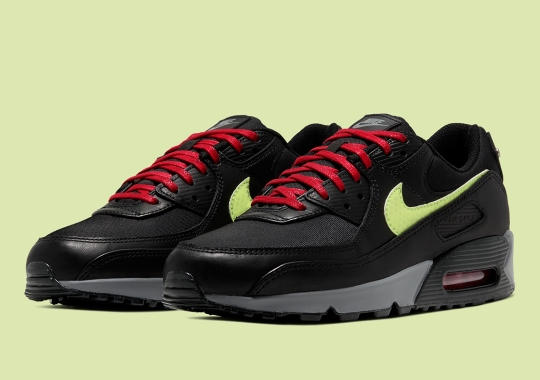 "Official Images Of The FDNY-Inspired Nike Air Max 90 ""NYC"""