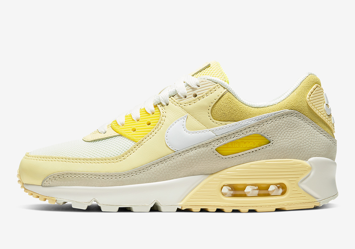 Nike Air Max 90 Lemon CW2654-700 Release Info | SneakerNews.com