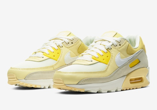 The Nike Air Max 90 Gets A Lemon Packed Colorway