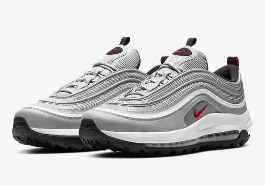 "The Nike Air Max 97 ""Silver Bullet"" Is Returning As A Golf Shoe"