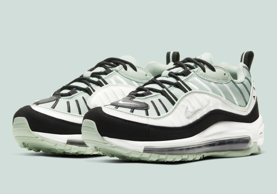 """This """"Pistachio Frost"""" Nike Air Max 98 Is Available Now"""