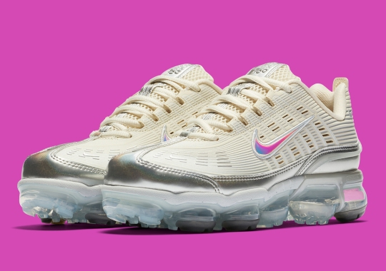 The Nike Air Vapormax 360 For Women Arrives In An Elegant Cream And Silver