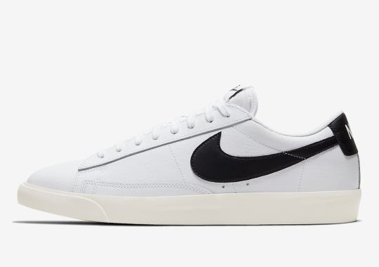 The Nike Blazer Low Goes For The Classic White/Black Appeal