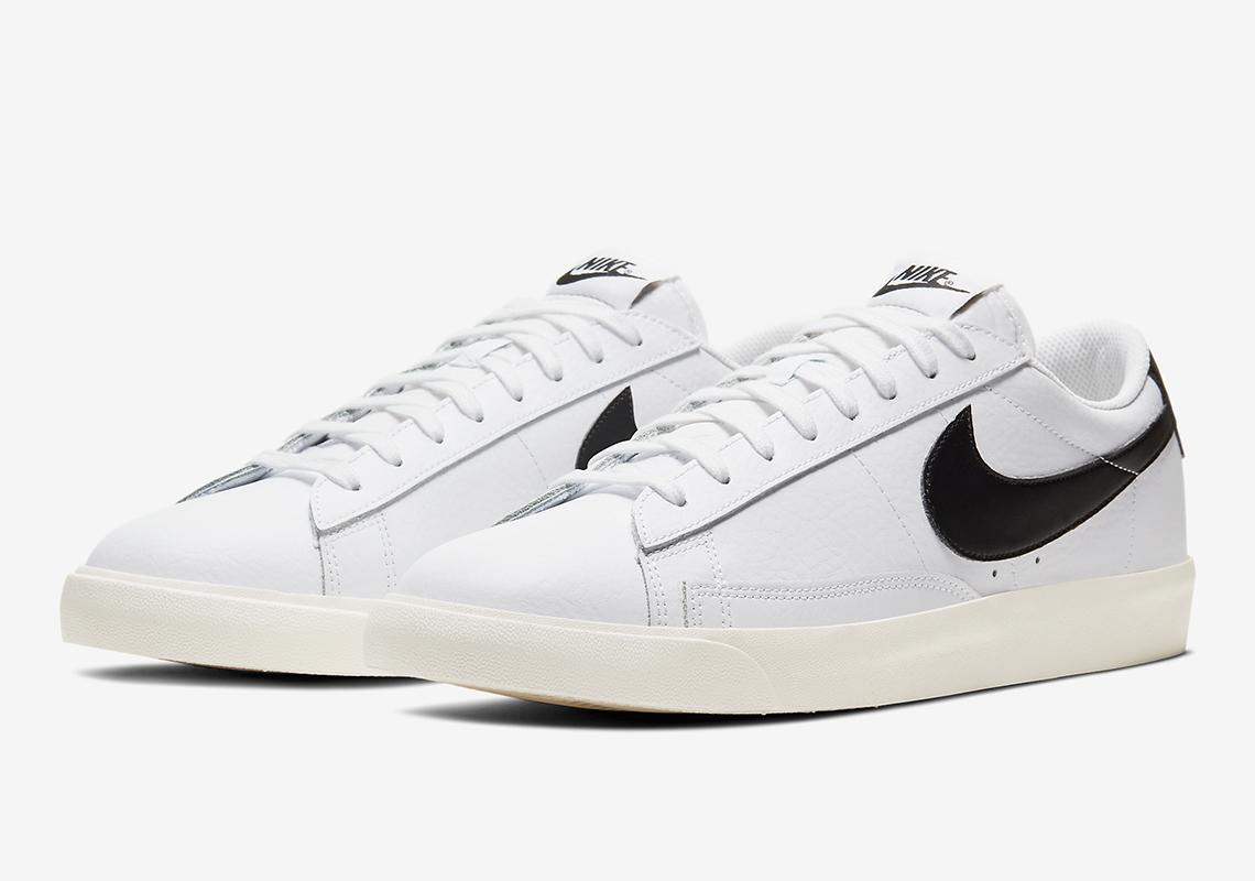 Nike Blazer Low White Black Sail CI6377-101 Release Info ...