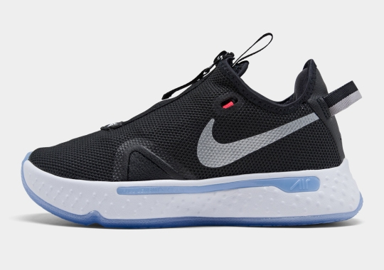 Where To Buy The Nike PG 4 In Black And Smoke Grey