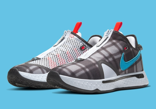 "The NIke PG 4 In ""Football Grey"" Plaid Releases On February 7th"
