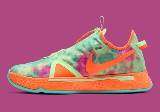 "Gatorade Adds Tie-Dye Flavor To The Nike PG 4 ""ASW"""
