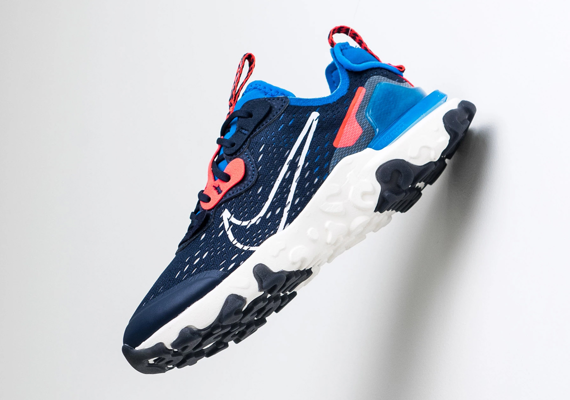 Nike React Vision Midnight Navy GS