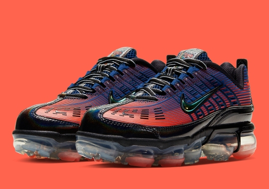 Nike Adds Futuristic Gradients To The Vapormax 360