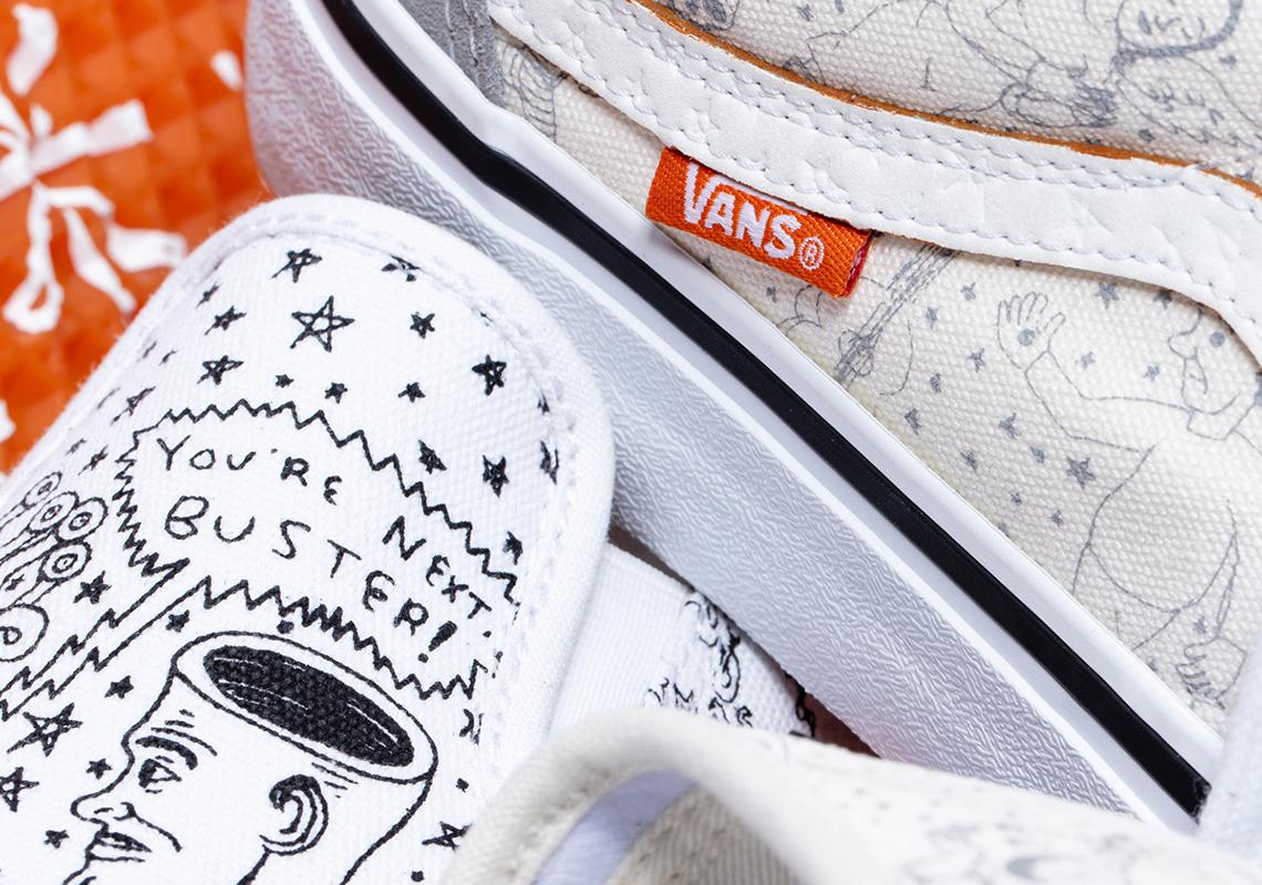 No Comply Vans Daniel Johnston 2020 Shoes Release Info