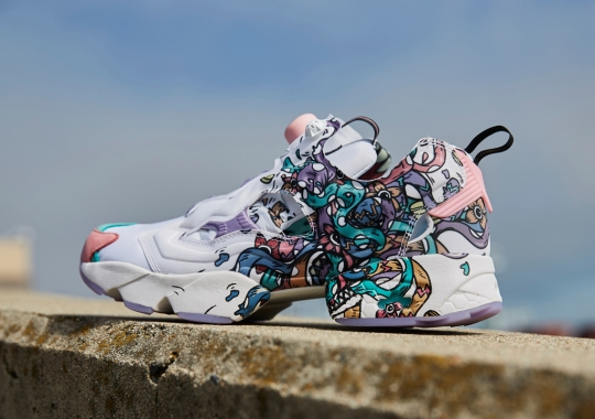 Visual Artist Distortedd Adds Her Flair To The Reebok Instapump Fury
