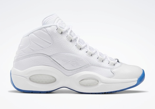 Reebok To Release The Question Mid In A Wintry White And Icy Blue
