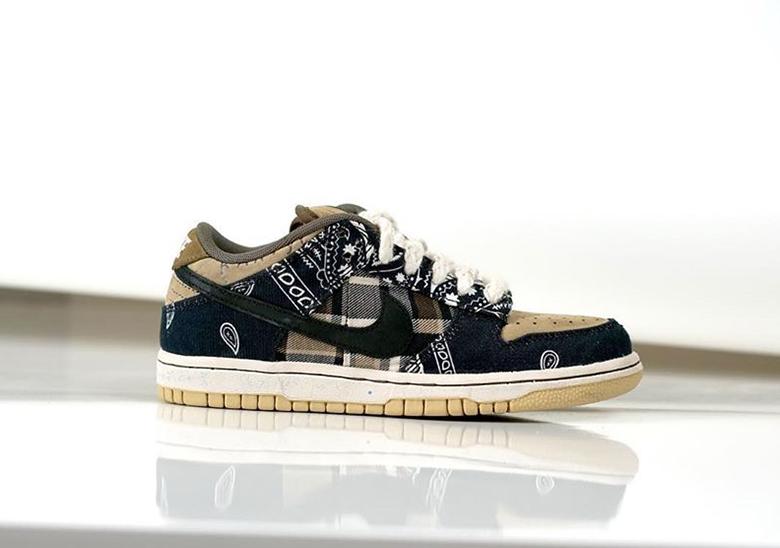 Travis Scott Nike SB Dunk Low Photos + Release Info   SneakerNews.com