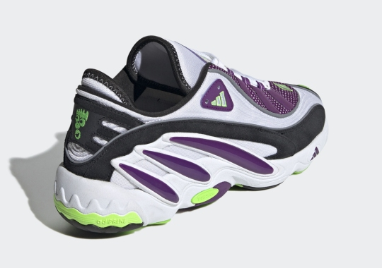The adidas EQT Solution Appears In Glory Purple And Solar Green