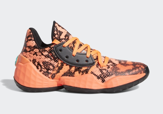 "adidas And James Harden Revisit The ""Gila Monster"" In Upcoming Vol. 4 Release"