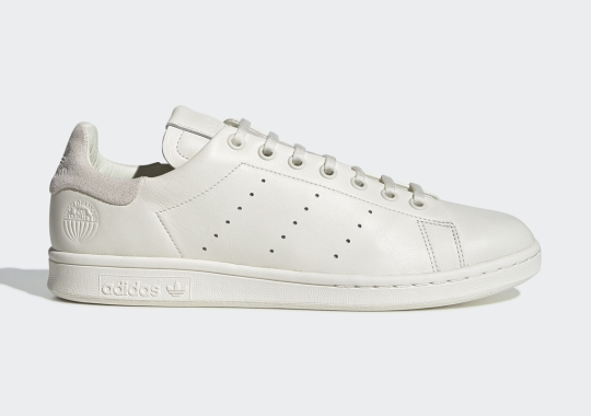The adidas Stan Smith Recon Dresses In An Elegant Off White