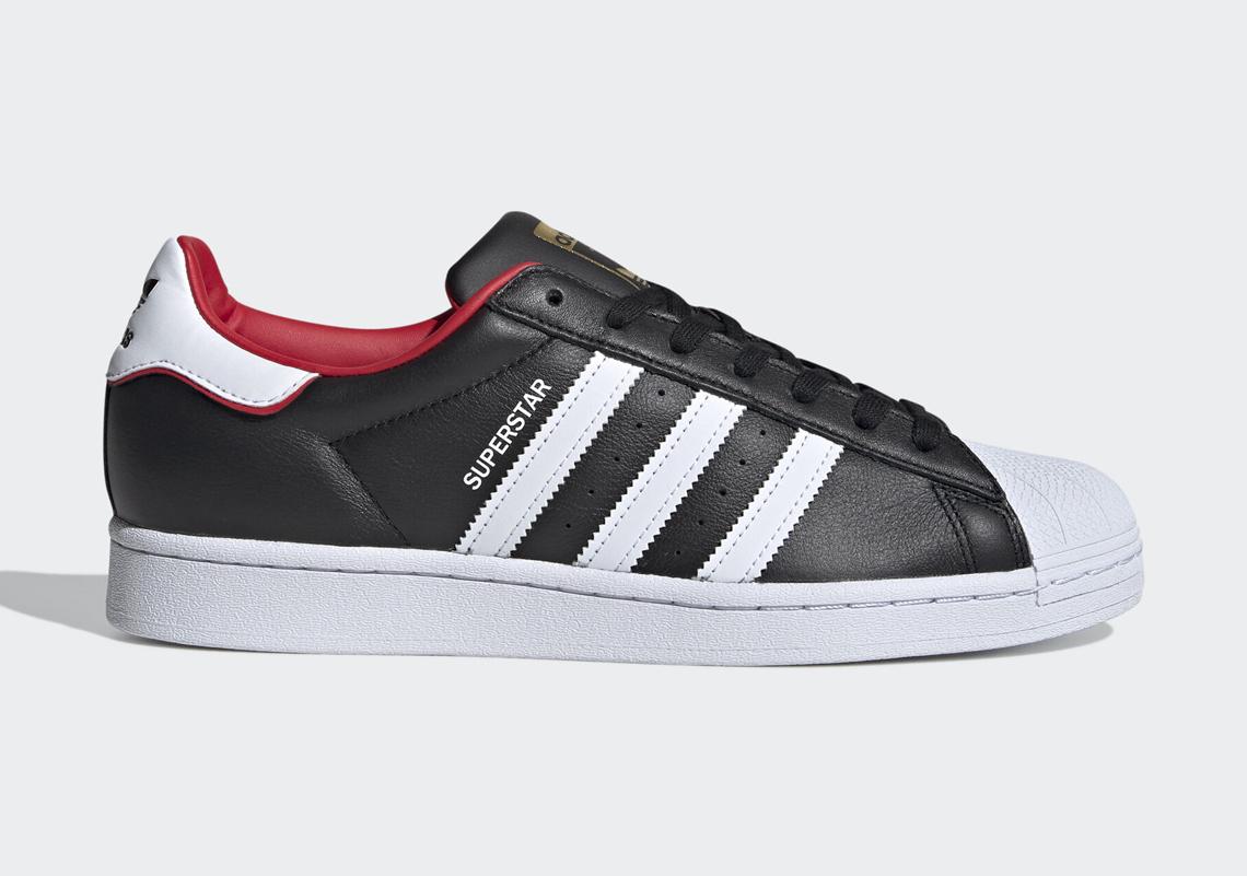 adidas superstar noir motif