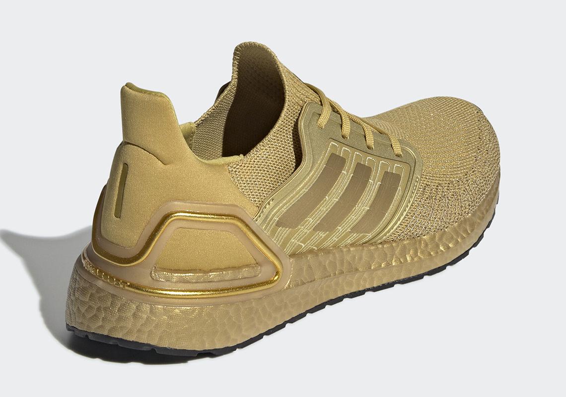 adidas Ultra Boost 20 Gold EG1343 Release Info | SneakerNews.com