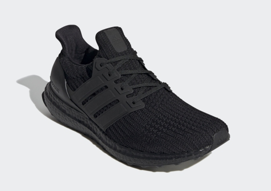 The adidas Ultra Boost 4.0 Makes A Surprise Return In Triple Black