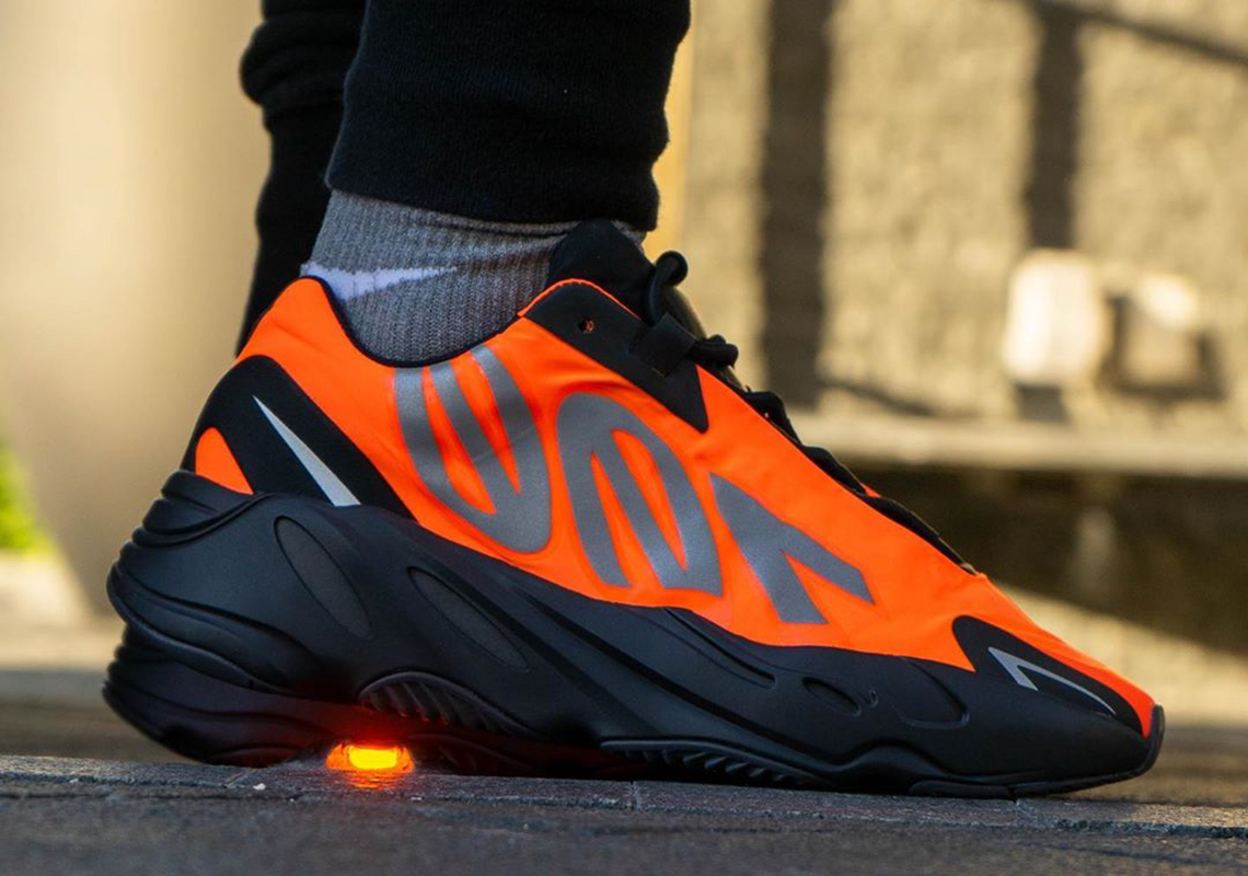 orange yeezy