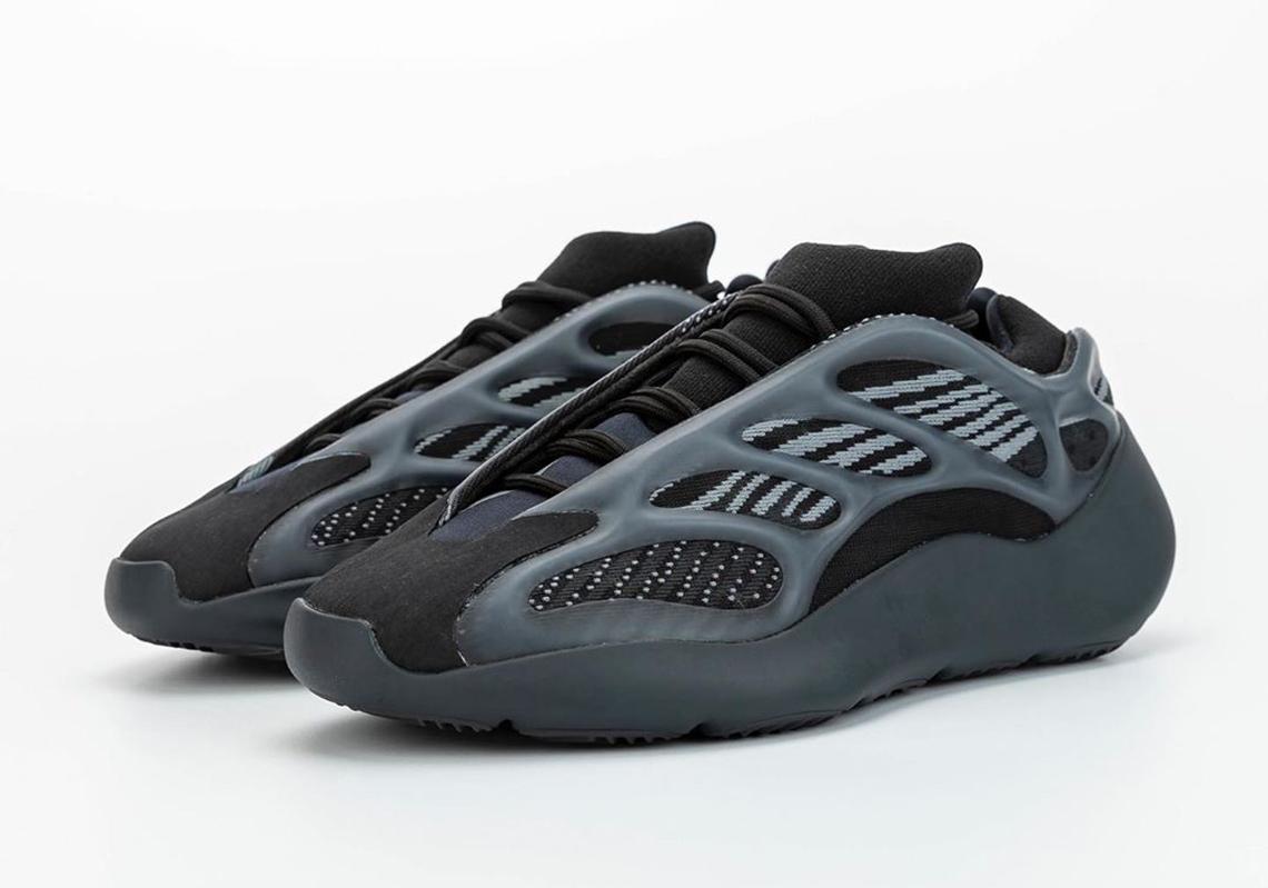 adidas Yeezy 700 v3 Black H67799 Release Info | SneakerNews.com