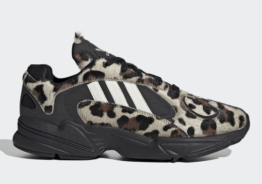 The adidas YUNG-1 Gets Feral With Leopard Print Edition