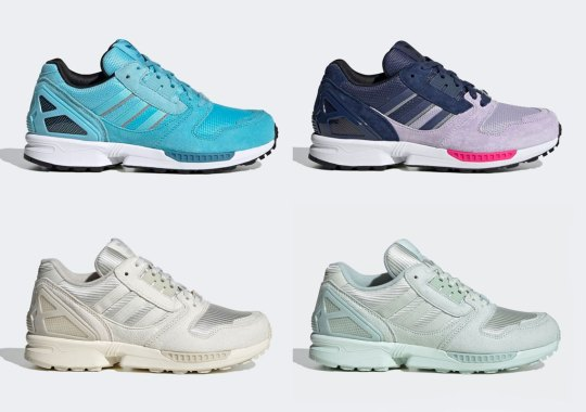 The adidas ZX 8000 Is Ready For Spring