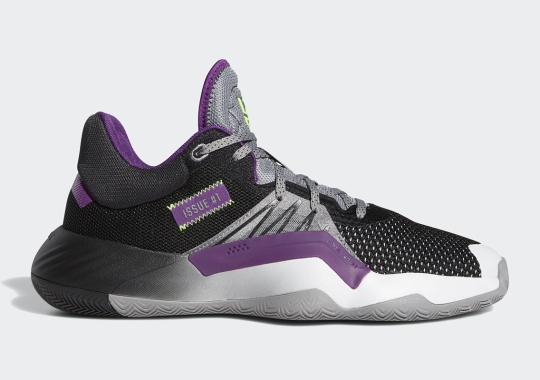 The adidas D.O.N. Issue #1 Dresses Up As The Joker