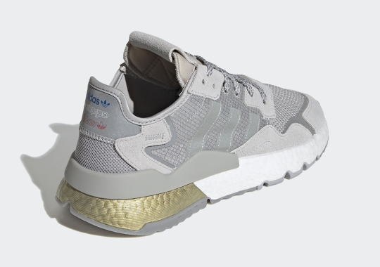 The adidas Nite Jogger Gets Golden BOOST Accents