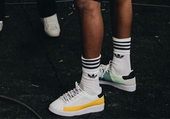 Pharrell Teases Possible adidas Superstar Collaboration
