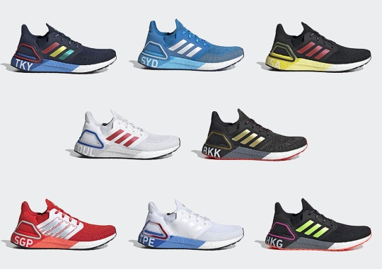 "The adidas Ultra BOOST 20 ""City Pack"" Honors Eight Asia-Pacific Running Hotspots"