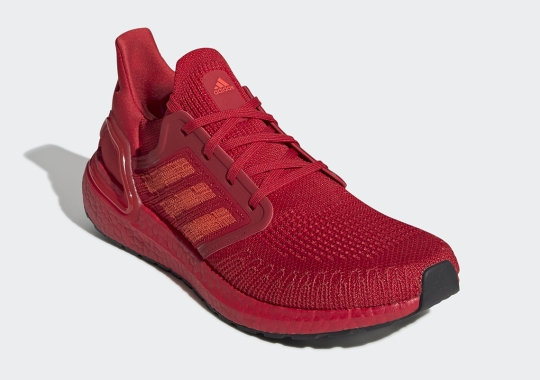 "The adidas Ultra BOOST 20 Is Coming Soon In ""Triple Red"""