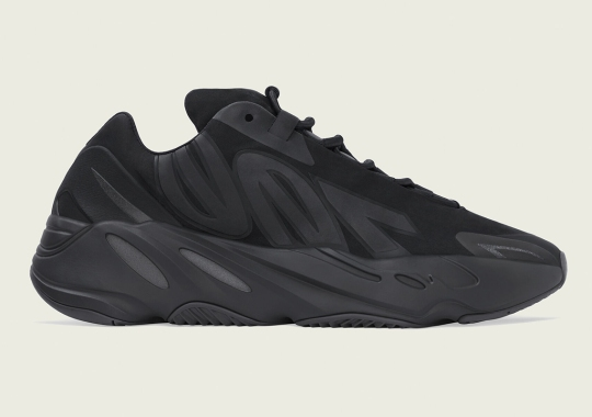 """The adidas Yeezy Boost 700 MNVN """"Triple Black"""" Is Dropping in Spring 2020"""