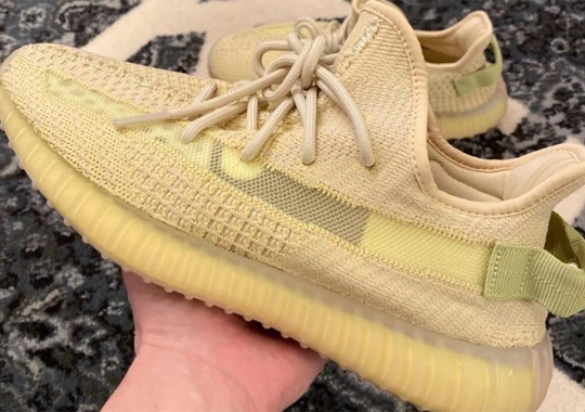 "First Look At The adidas Yeezy Boost 350 v2 ""Flax"""
