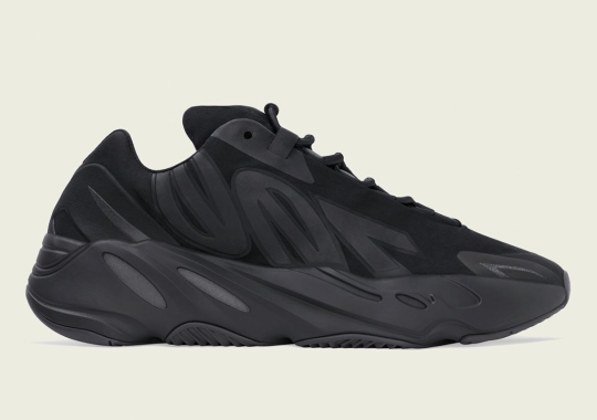 The adidas Yeezy Boost 700 MNVN Gets The Triple Black Treatment