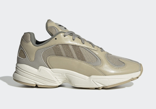 "The adidas Yung-1 Gets A Soft ""Savanna Gold"" Colorway"