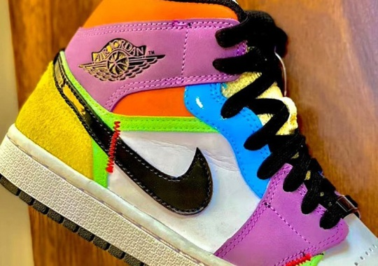 The Air Jordan 1 Mid SE For Women Ushers In Another Multi-Colored Palette