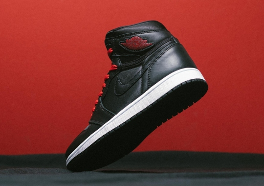 "The Air Jordan 1 Retro High OG ""Black Satin"" Releases Tomorrow"