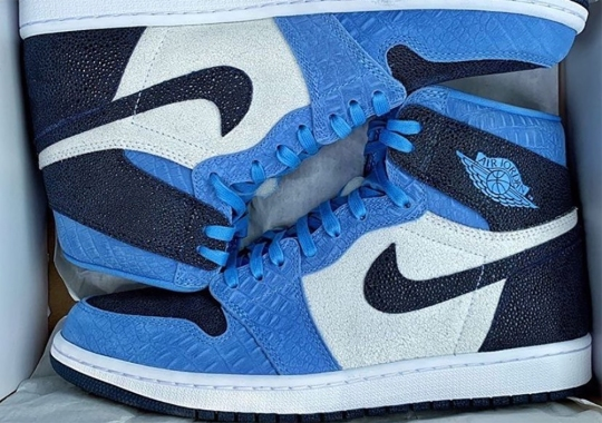 The North Carolina Tar Heels Football Progam Is Receiving Their Own Air Jordan 1 Retro High OG PE