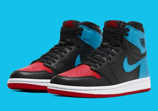 "Official Images Of The Air Jordan 1 Retro High OG ""UNC To CHI"""