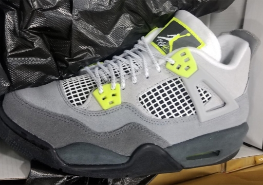 This Upcoming Air Jordan 4 Is Inspired By The Air Max 95